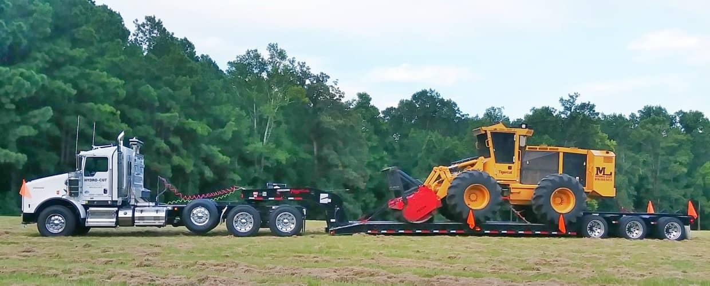 Towing Hydrocut Equipment